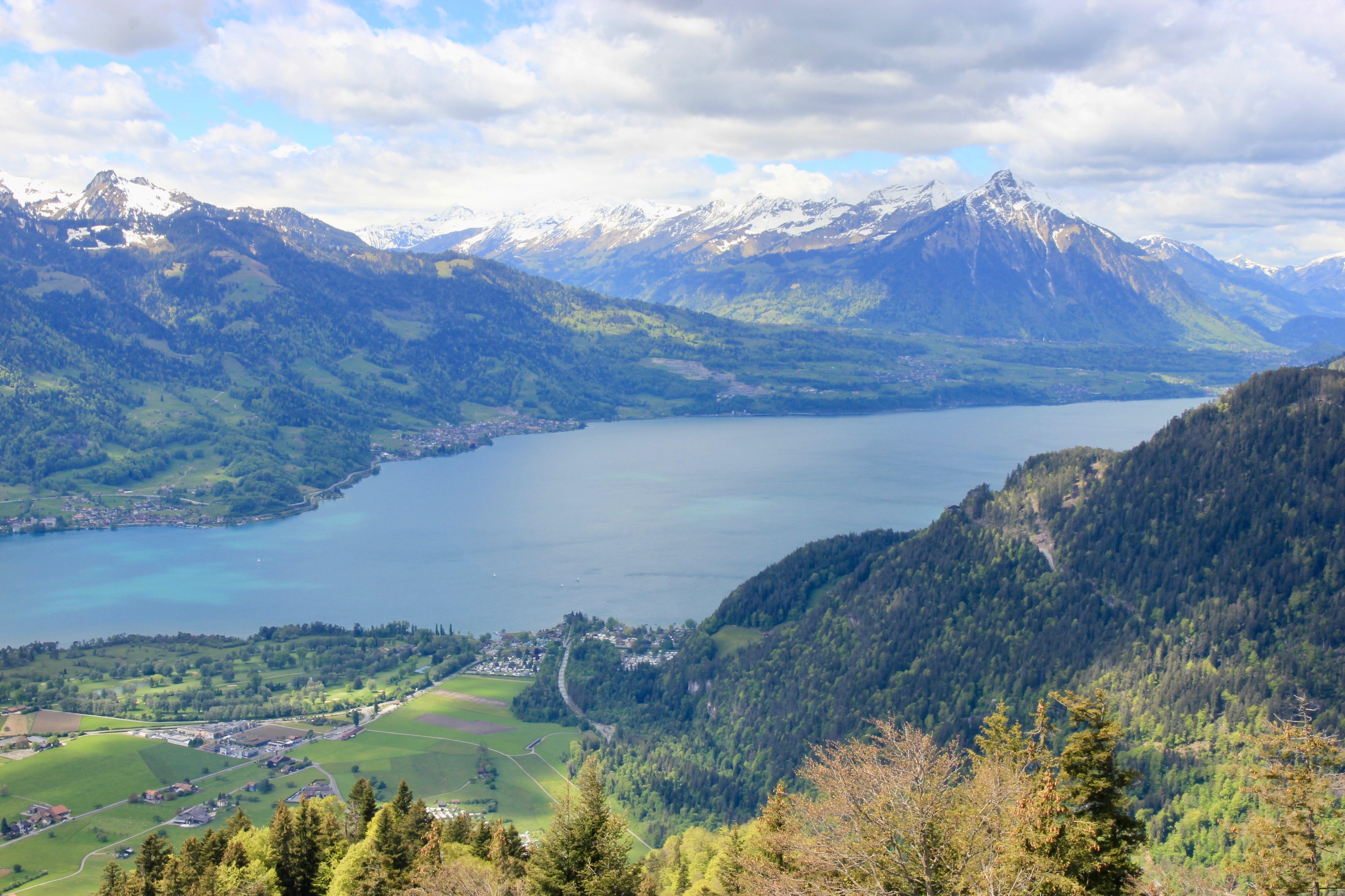Lago di Thun - Harder Kulm