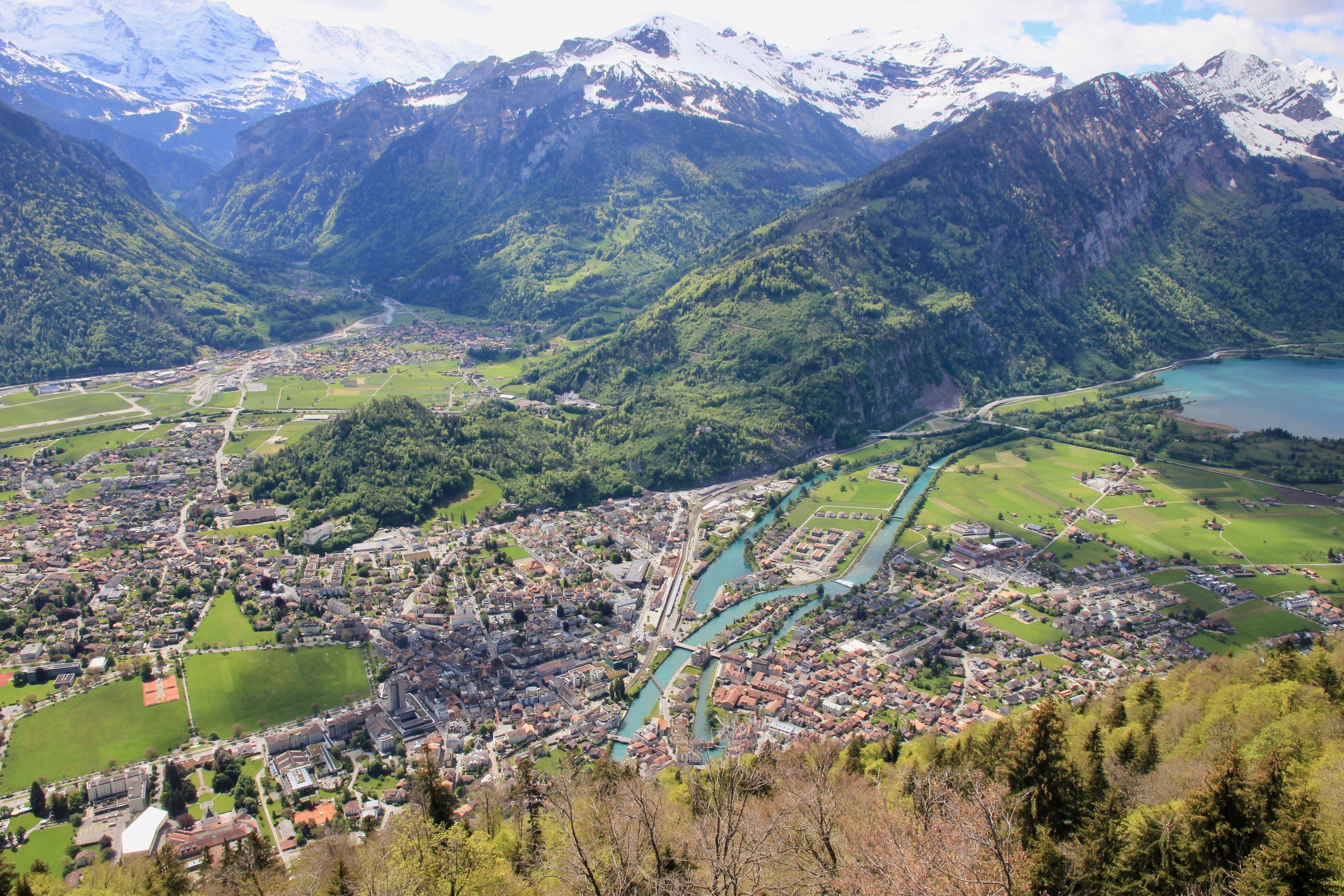 Harder Kulm di Interlaken