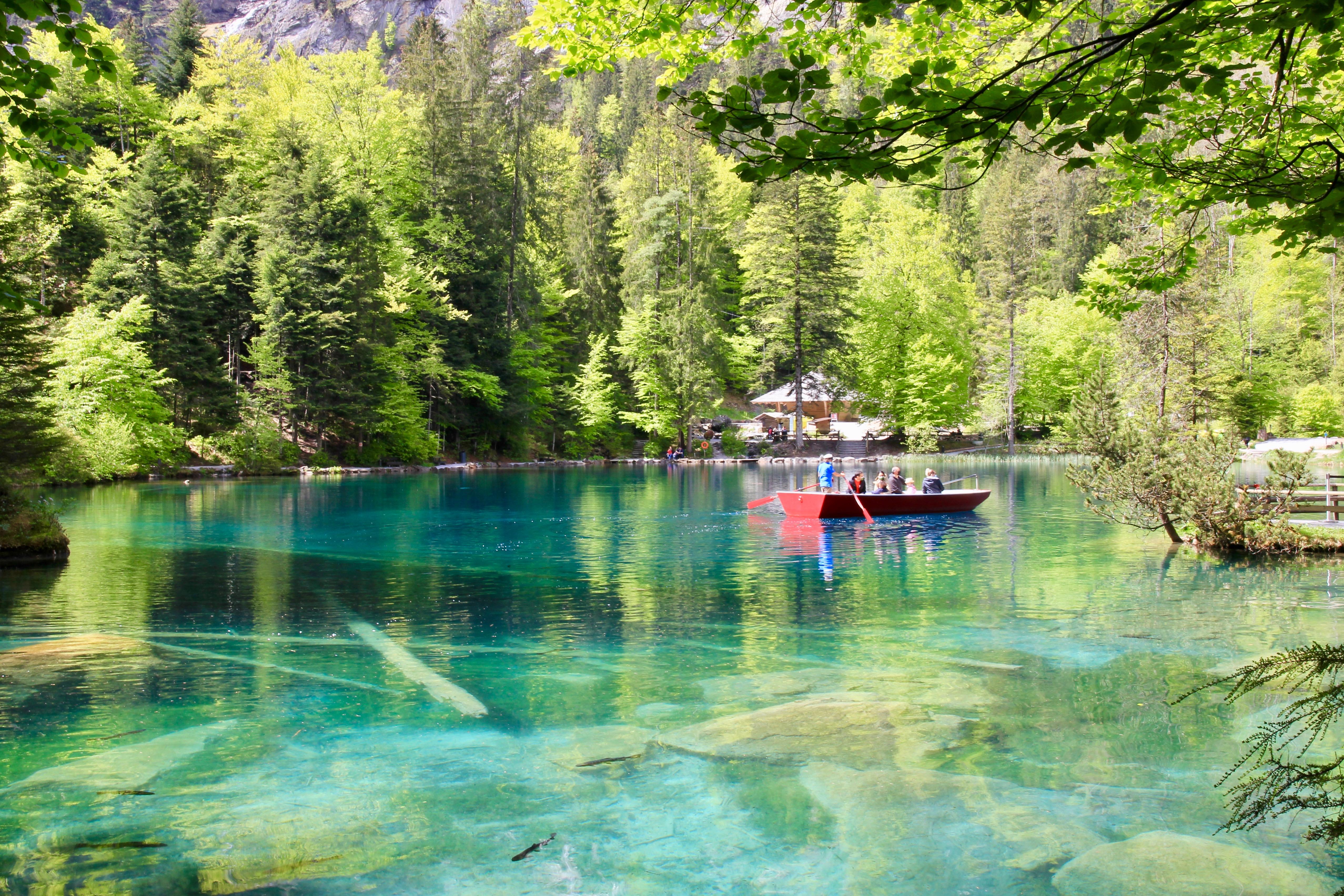Lago blu - Blausee