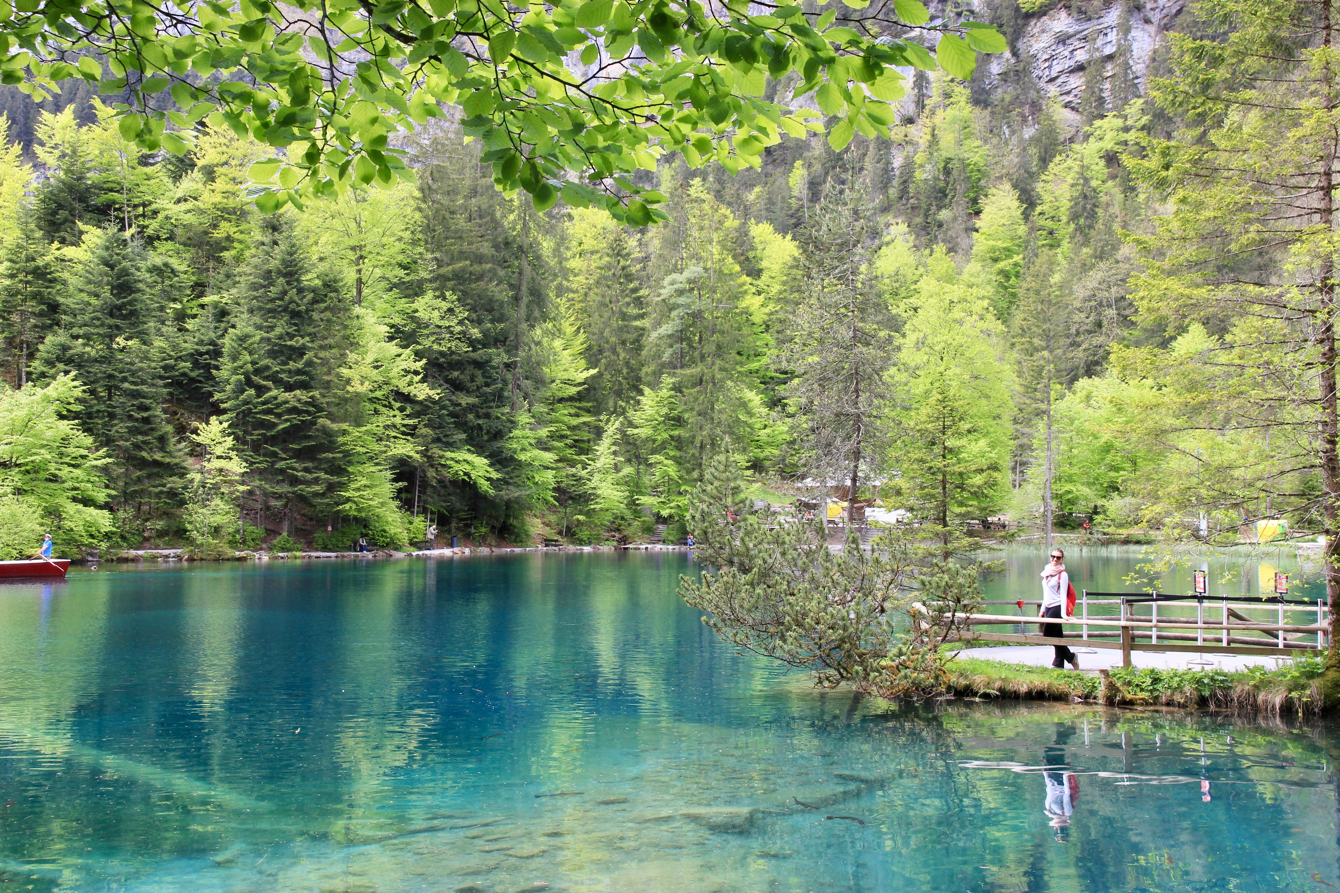 Blausee - lago blu