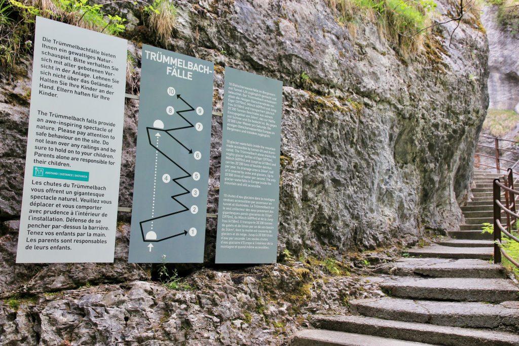 Svizzera, cascate Lauterbrunnen