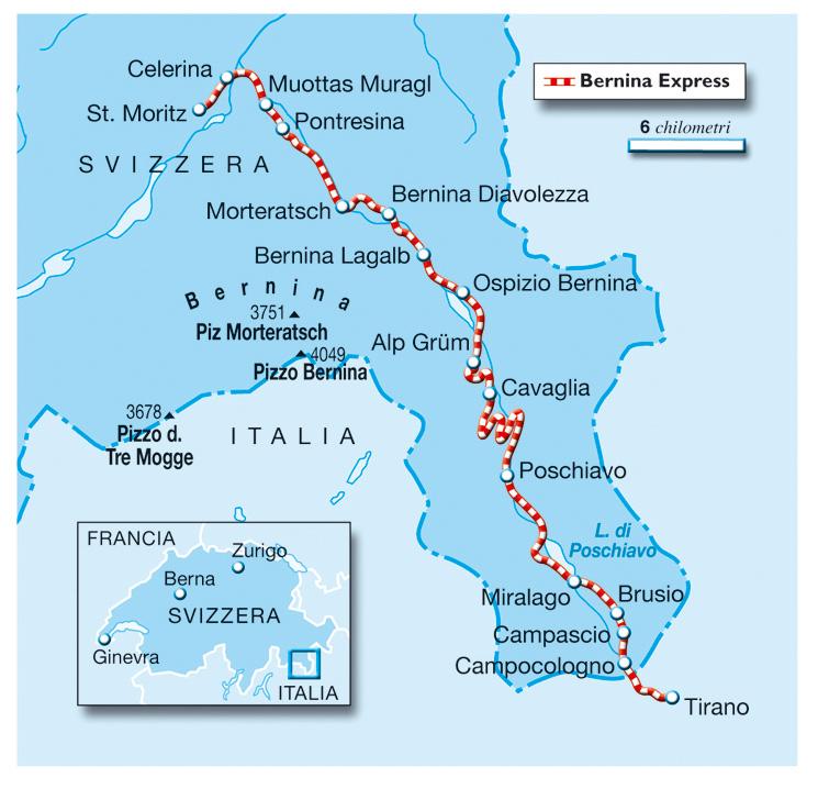 Giro del Trenino Rosso del Bernina